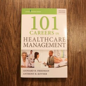 101 careers in healthcare management textbook